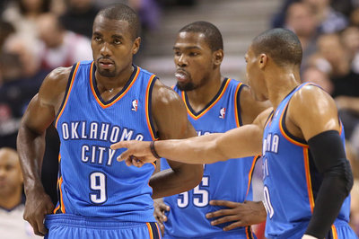Kevin Durant, Russell Westbrook, Serge Ibaka earn spots in Sports Illustrated Top 100