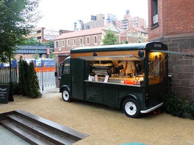 Intelligentsia S Coffee Truck Lucky Peach Goes Solo
