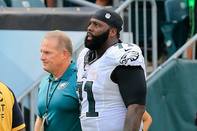 Jason Peters fined $10,000 by NFL for fighting Chris Baker