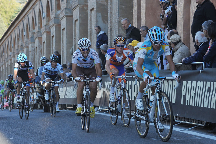 Photo: The TV thing has reached a new height of insanity: once again the Giro dell'Emilia, one of the most watchable races of the entire sport, a race where Nairo Quintana announced his interesting future, joining Coppi, Bartali, Merckx et al in the winner's circle, will get a half-hour of delayed TV coverage. � Getty Images Sport