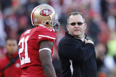 Greg Roman talks Frank Gore usage, wide receivers, offensive line