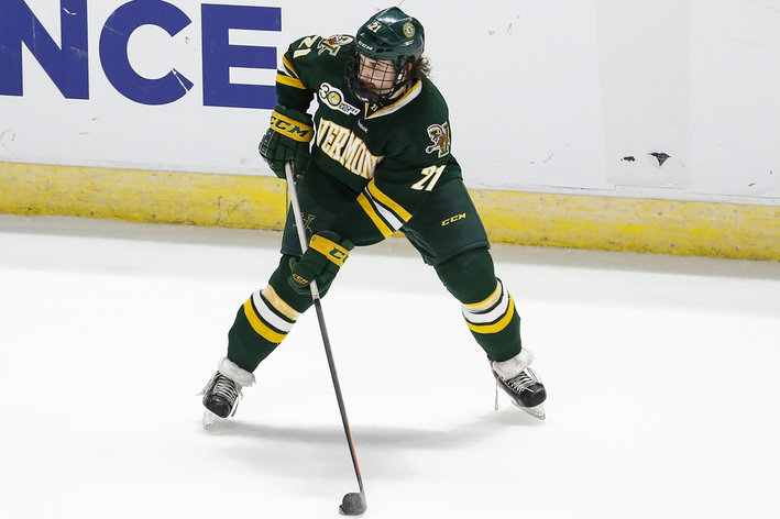 Hockey East: Mid-game Surge Lifts Vermont To Big Opening Win At Northeastern