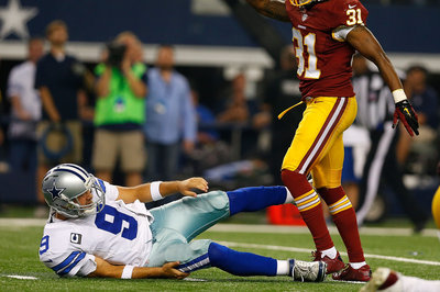 Cardinals vs. Cowboys injury report: Patrick Peterson cleared, Tony Romo misses practice