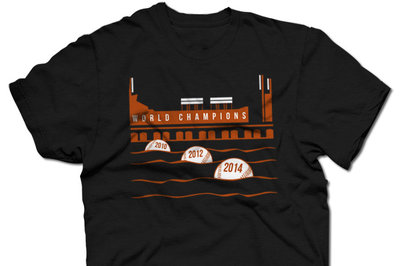 The Giants won the World Series, so buy these shirts!