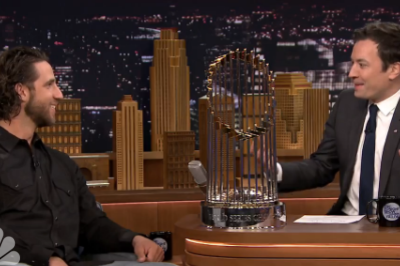 Watch Madison Bumgarner on Jimmy Fallon
