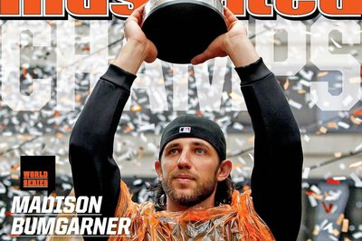 Madison Bumgarner is on the cover of this week's 'Sports Illustrated'