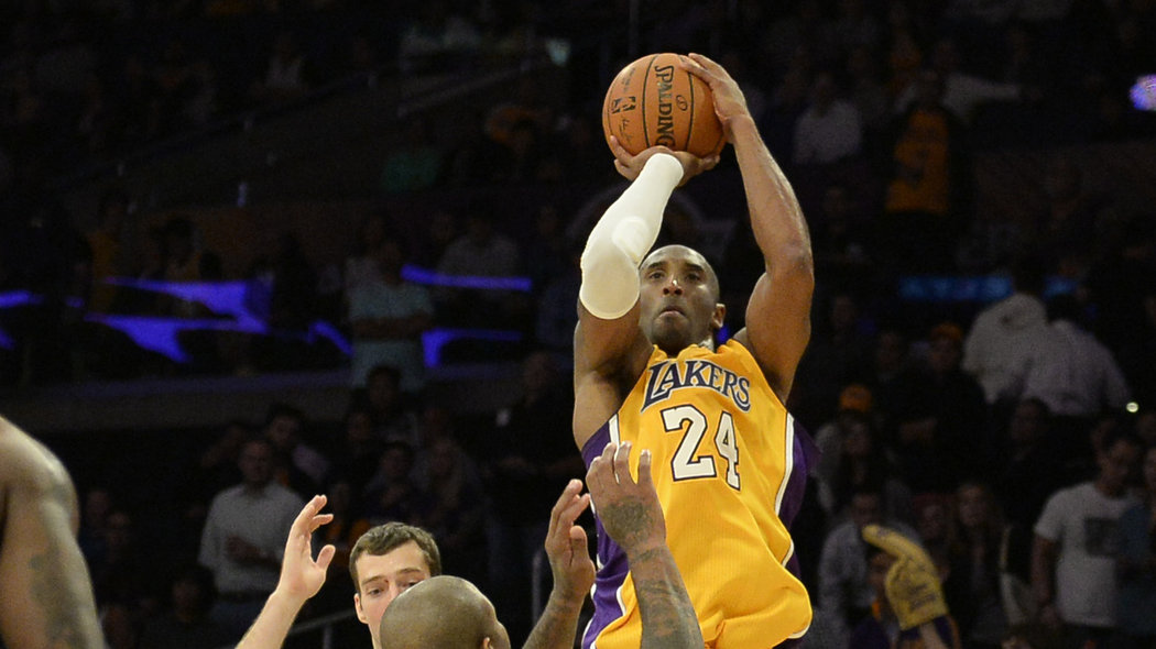 Watch Kobe Bryant Shoot 37 Times Against The Suns