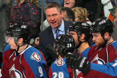 Red-faced Patrick Roy really, really disliked the boarding call against the Avs