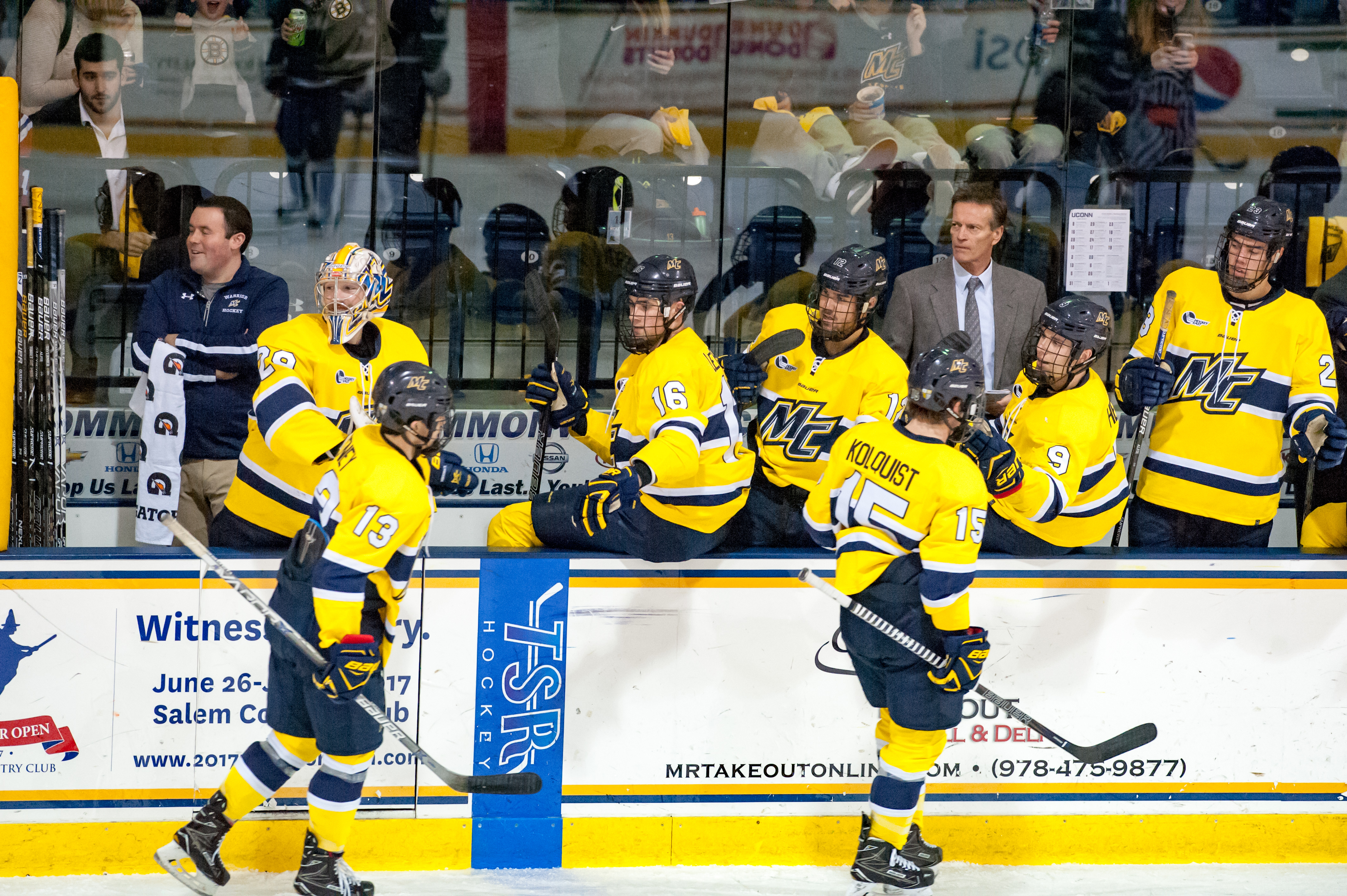 Hockey East: Surprising Merrimack Streaking Into Home Ice Position For Hockey East Tournament