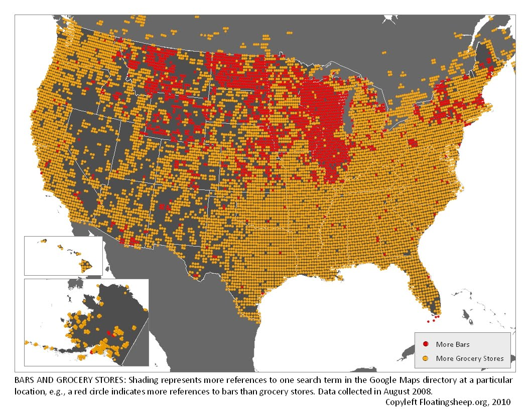 Maps That Explain Food In America Voxcom - Google map us population density map by county