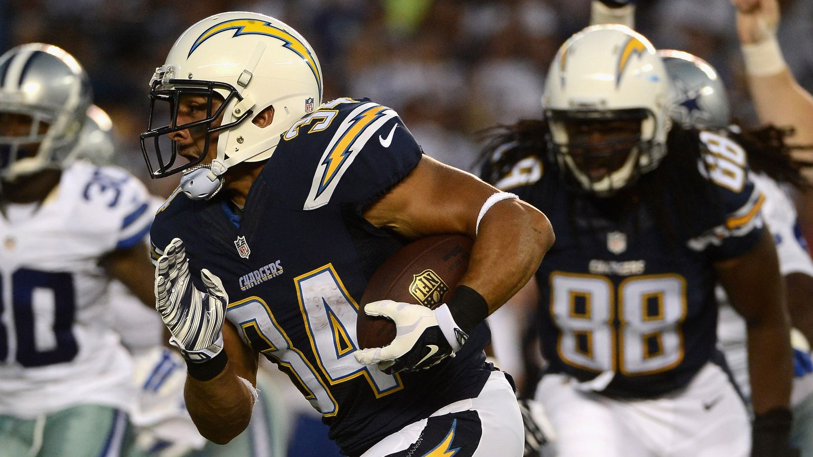 The San Diego Chargers Running Game Is Ready Bolts From