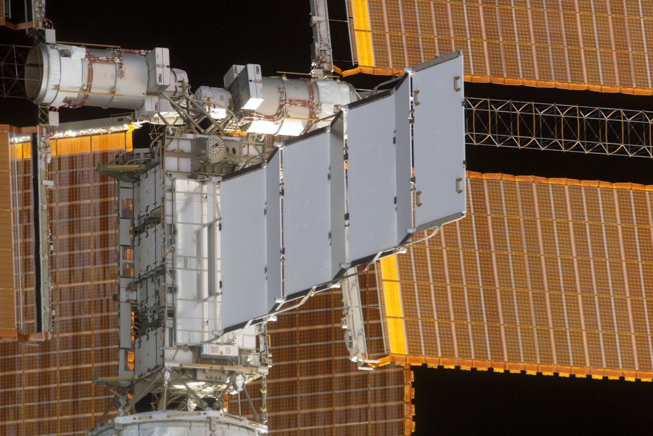 International Space Station Leaking Power System Coolant