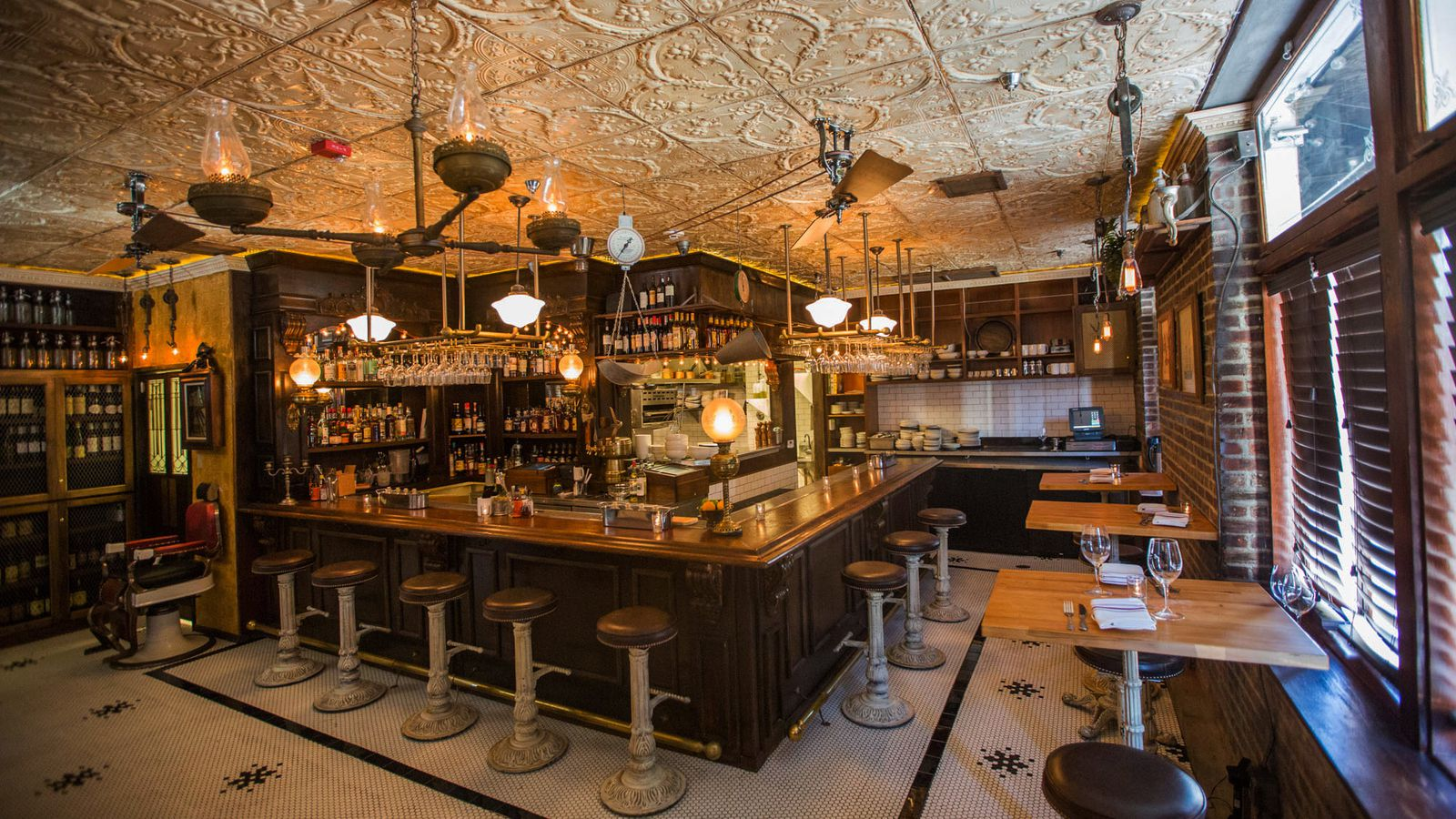 ... & Barbers, The Houston Bros First Hollywood Restaurant - Eater LA