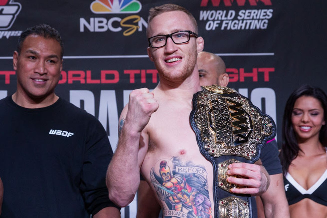 community news, WSOF 29 weigh in results, live video stream updates for Gaethje vs Foster