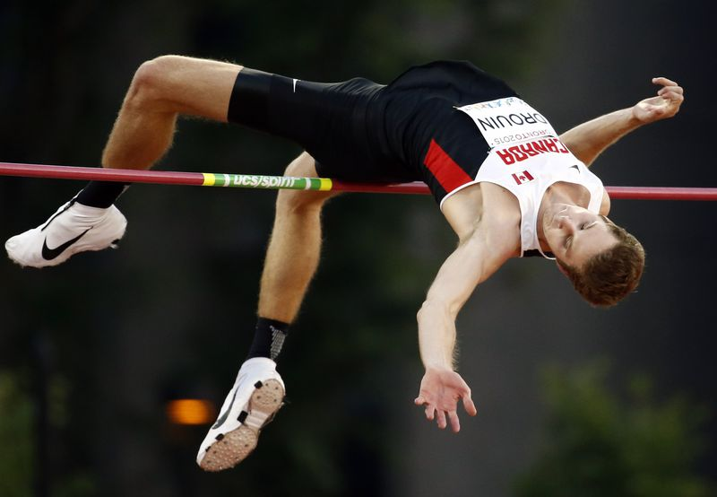 Drouin competing at the 2015 Pan Am Games. | Erich Schlegel-USA TODAY Sports
