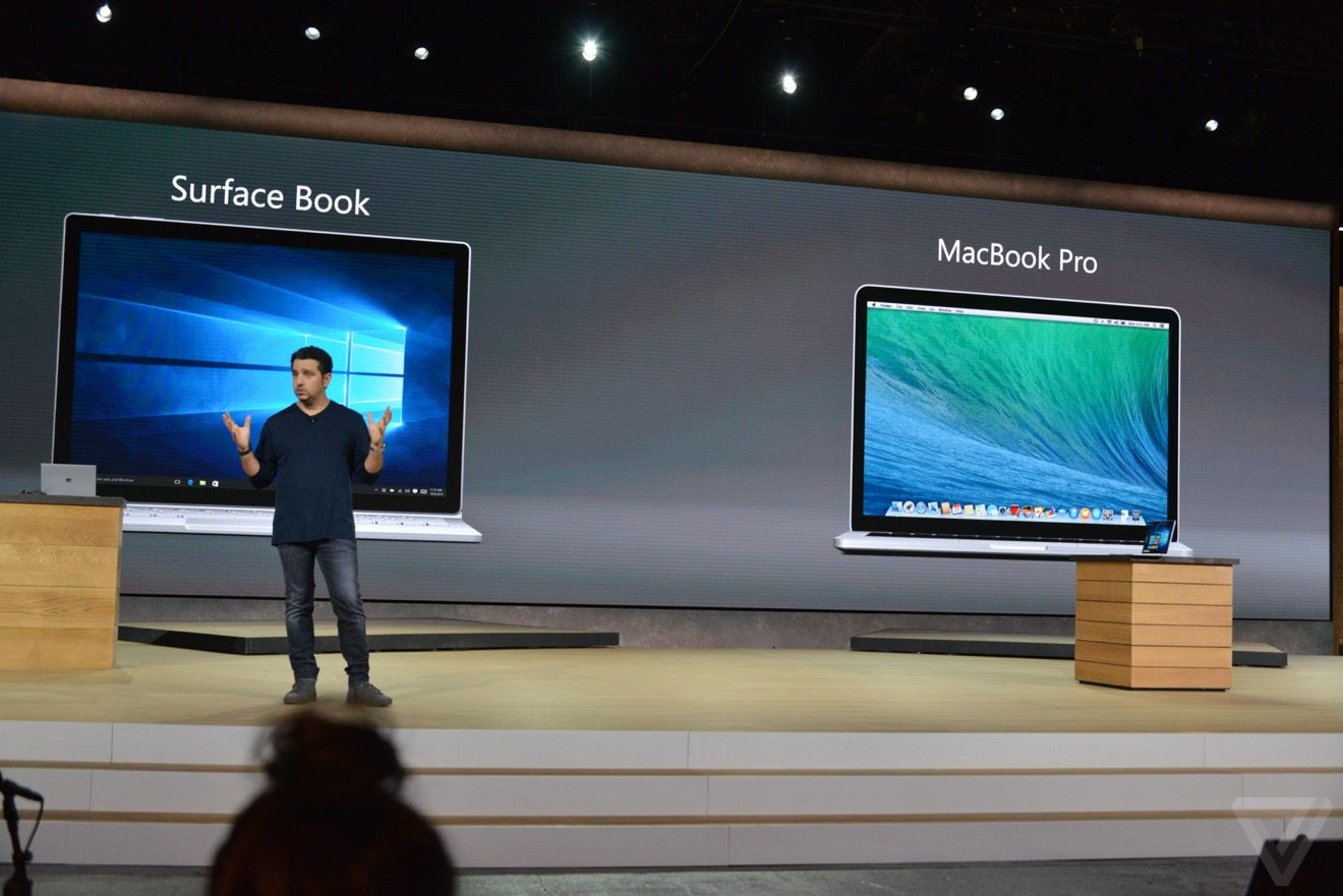 Surface Book vs. MacBook Pro