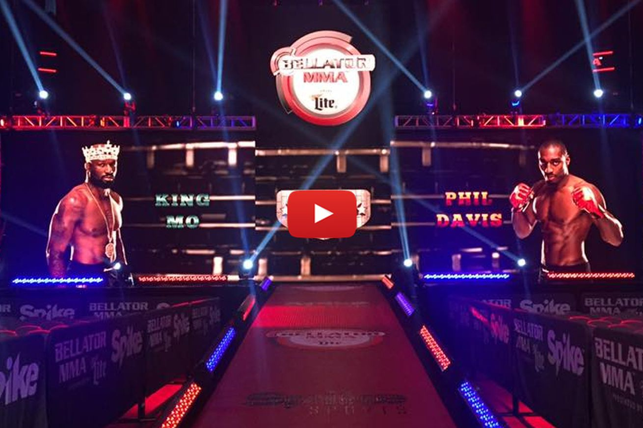 Bellator 154 live stream video, results for Davis vs King Mo prelim undercard fights online