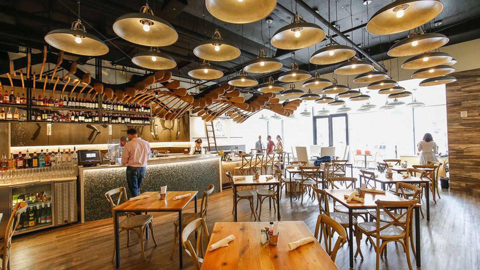Look inside the new blue island oyster bar eater denver