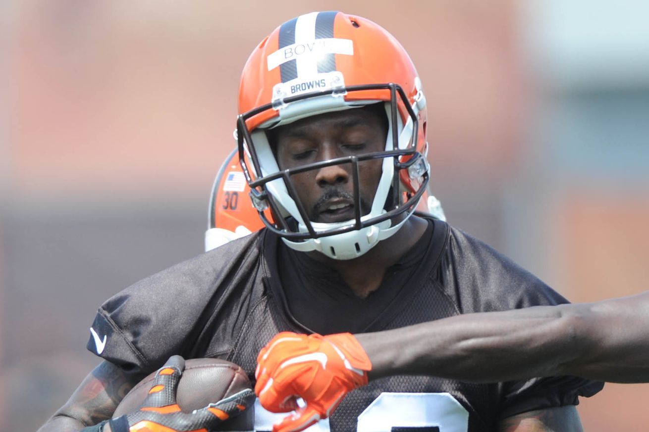Dwayne Bowe Browns Cut WR D...