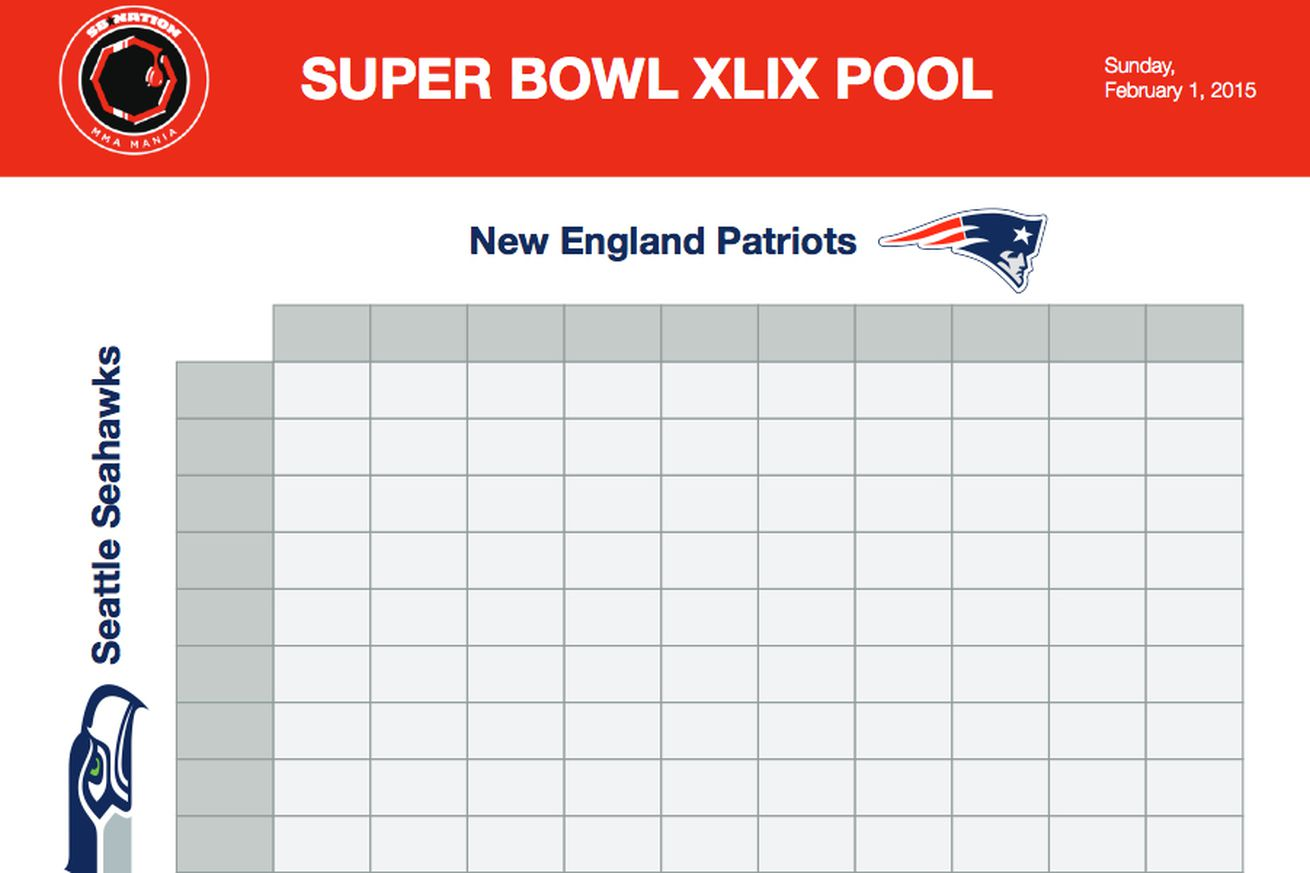 Super bowl squares sheet game download printable seahawks for Super bowl 2015 squares template