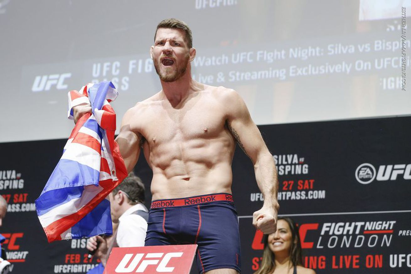 UFC Fight Night 84: Silva vs. Bisping Results