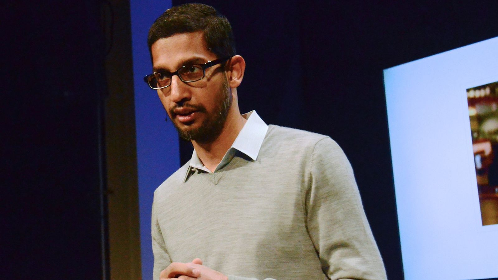 Thumbnail for Google's CEO just sided with Apple in the encryption debate