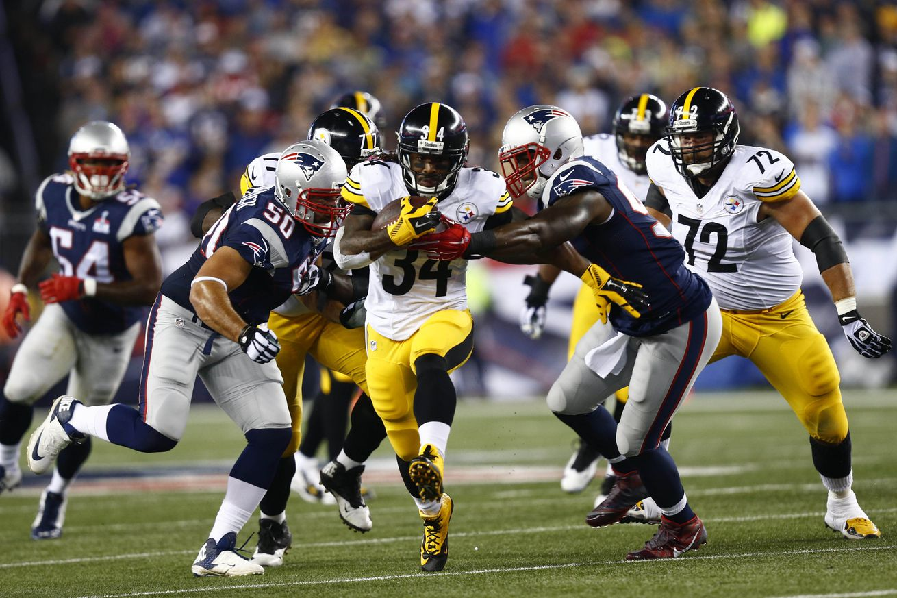 DeAngelo Williams on Patriots: 'I am glad they got problems'