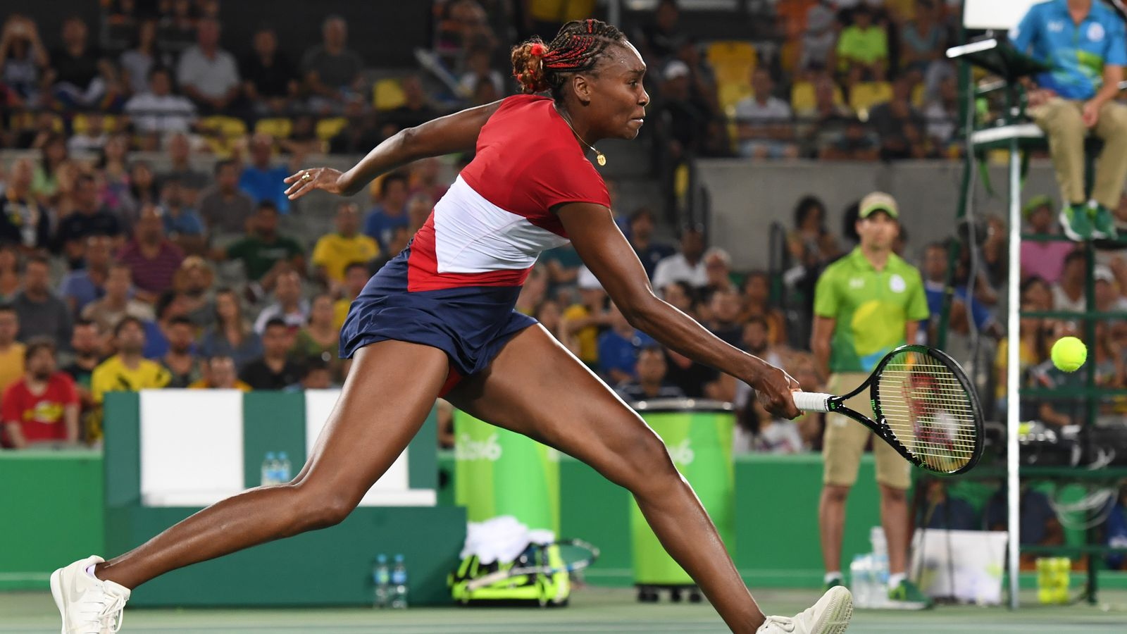 Olympics 2016 tennis results and scores: Venus Williams lose