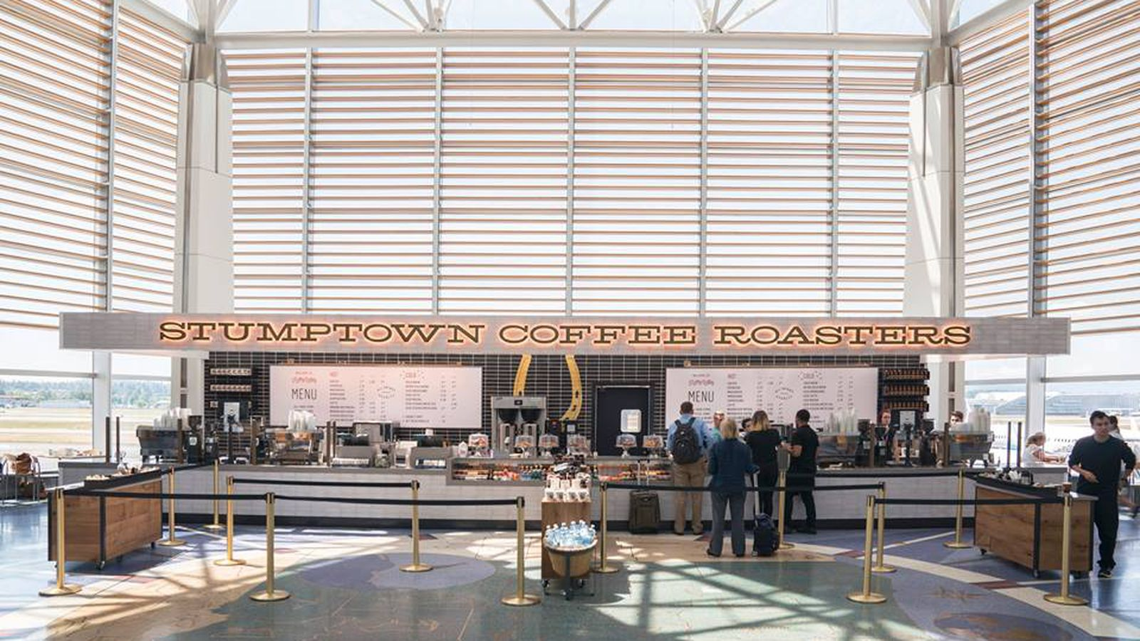 PDX Airport Triples Coffee Options Eater Portland