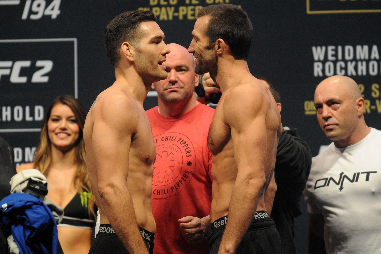 community news, Chris Weidman calling for Luke Rockhold rematch at UFC 205 in New York