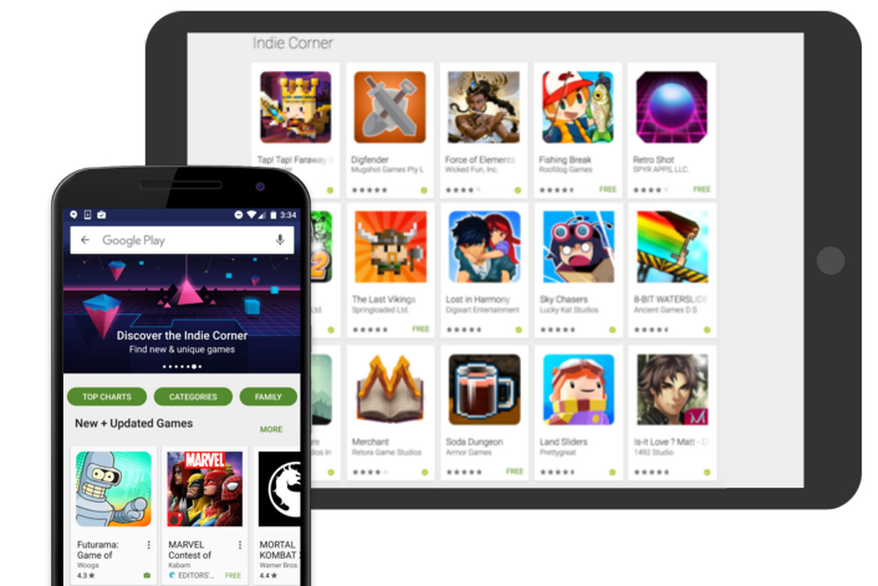 Android's Google Play will let users trial games right from search results