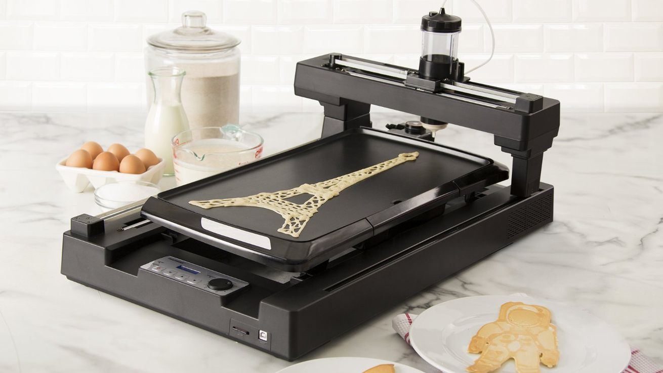 3d printing pancake robots invade home kitchens eater for 3d house maker