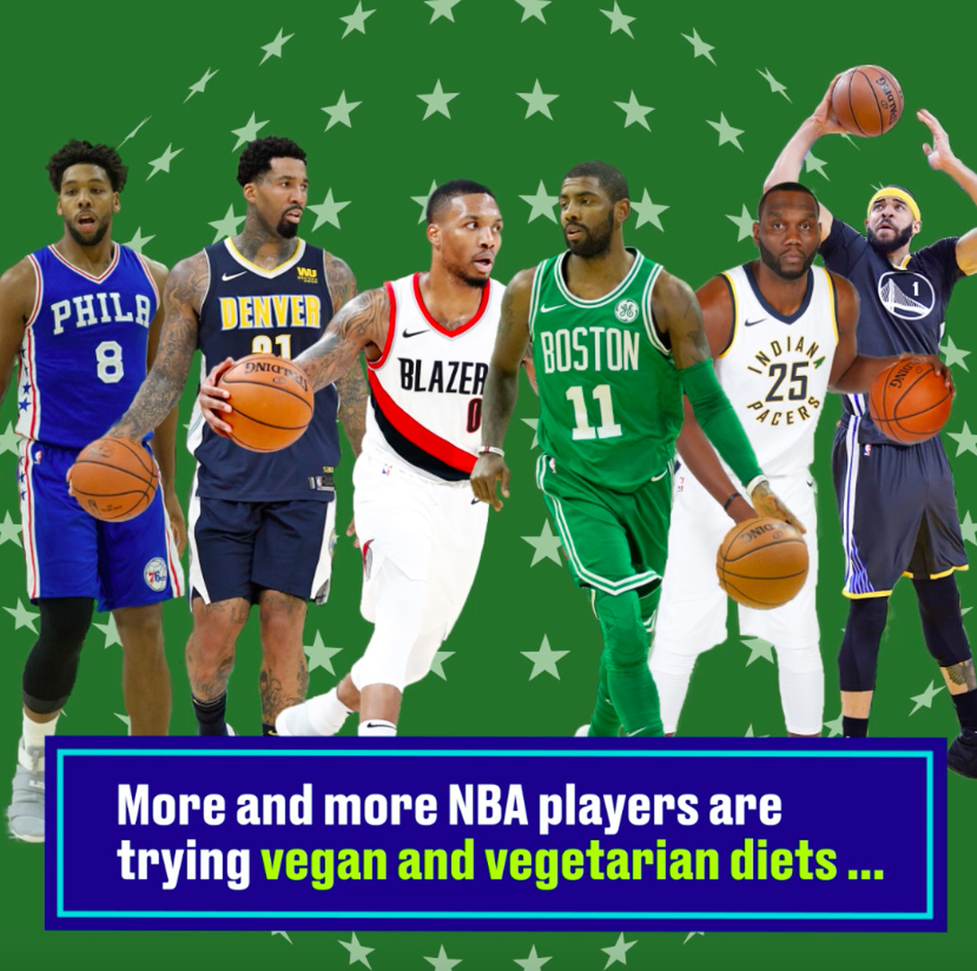 NBA players explain why they are going vegan and vegetarian