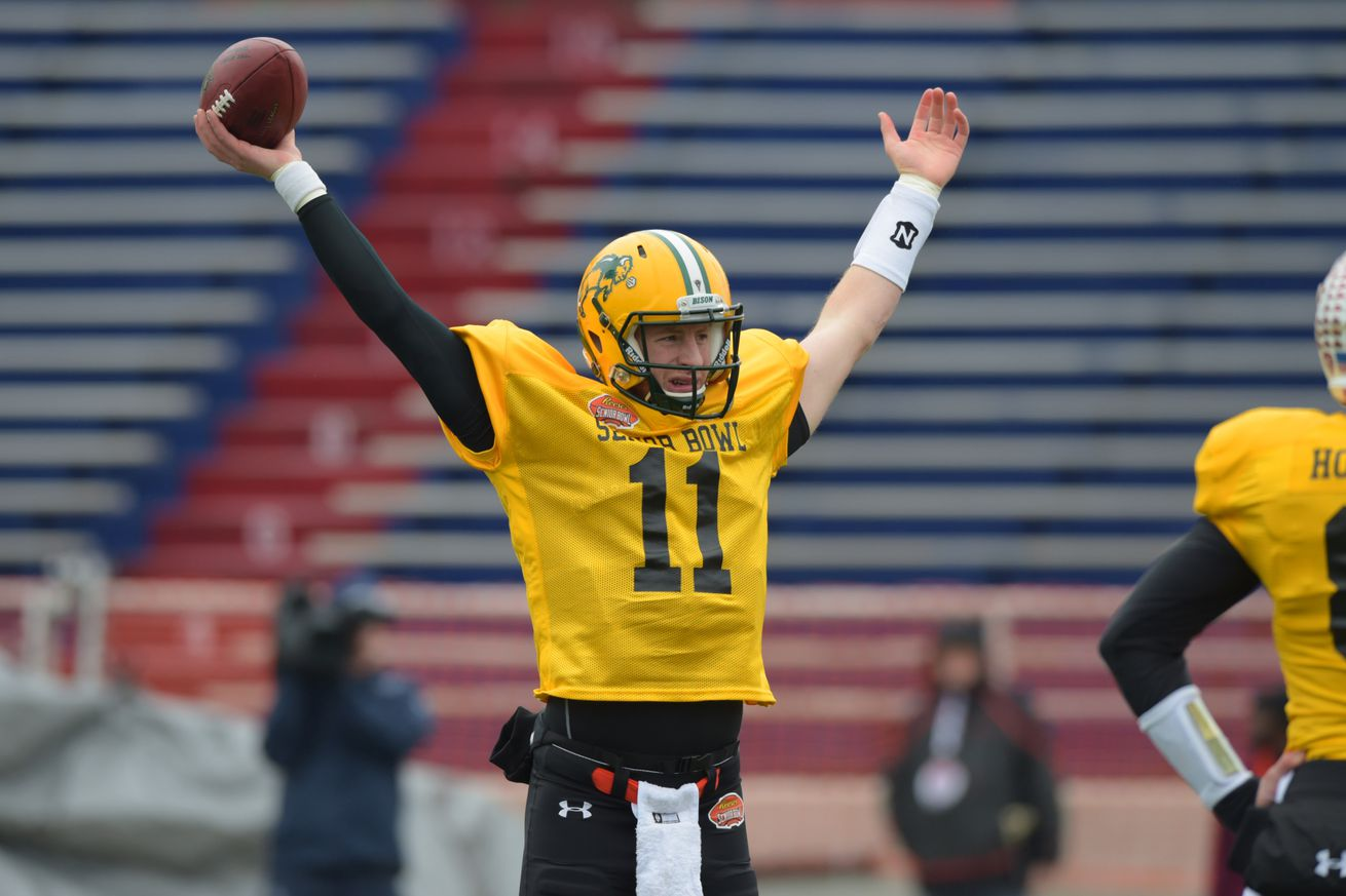2016 NFL Draft: Mayock's Rankings a Sign Carson Wentz Won't Be an Option for the Jets?