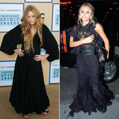 Olsenologists Likely Remember 2006 As The Year When Mary Kate Olsen Basically Stopped Wearing Any Color Other Than Black She Became Especially Fond Of