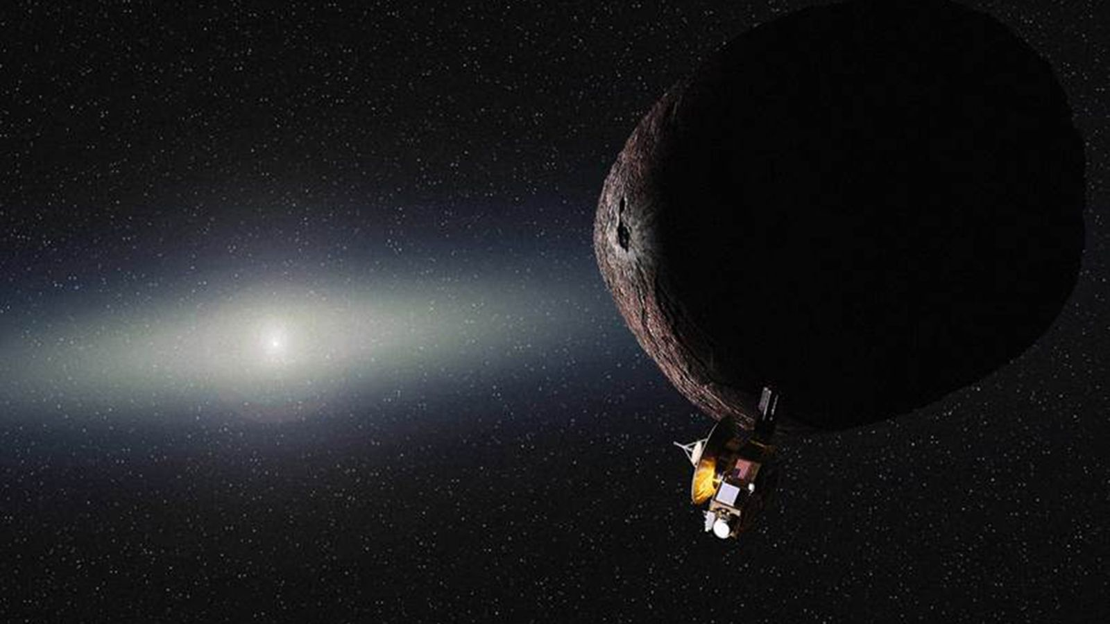 NASA extends the New Horizons mission to fly by another small world beyond Pluto