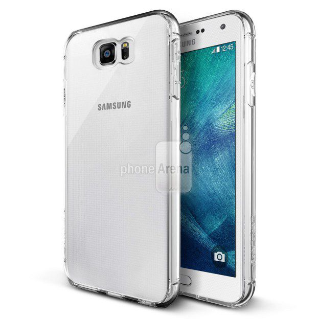 Samsung Galaxy S6 design supposedly leaked by case manufacturers.
