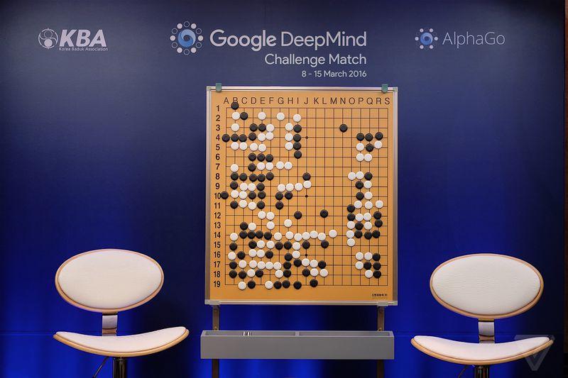 غلبه alpha go گوگل بر رقیب انسانی