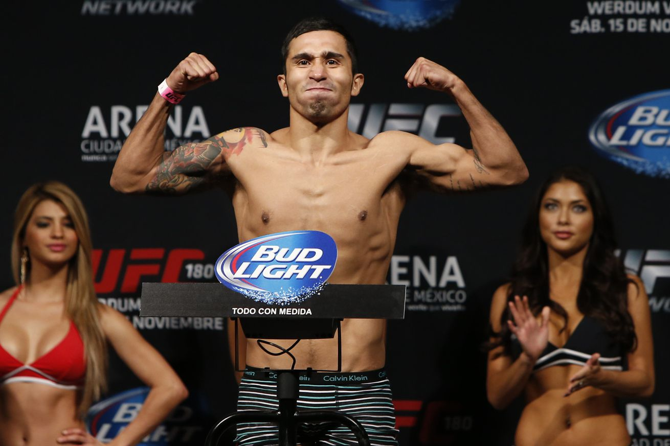 community news, Manny Gamburyan out of UFC Fight Night 94; Alejandro Perez meets replacement Albert Morales