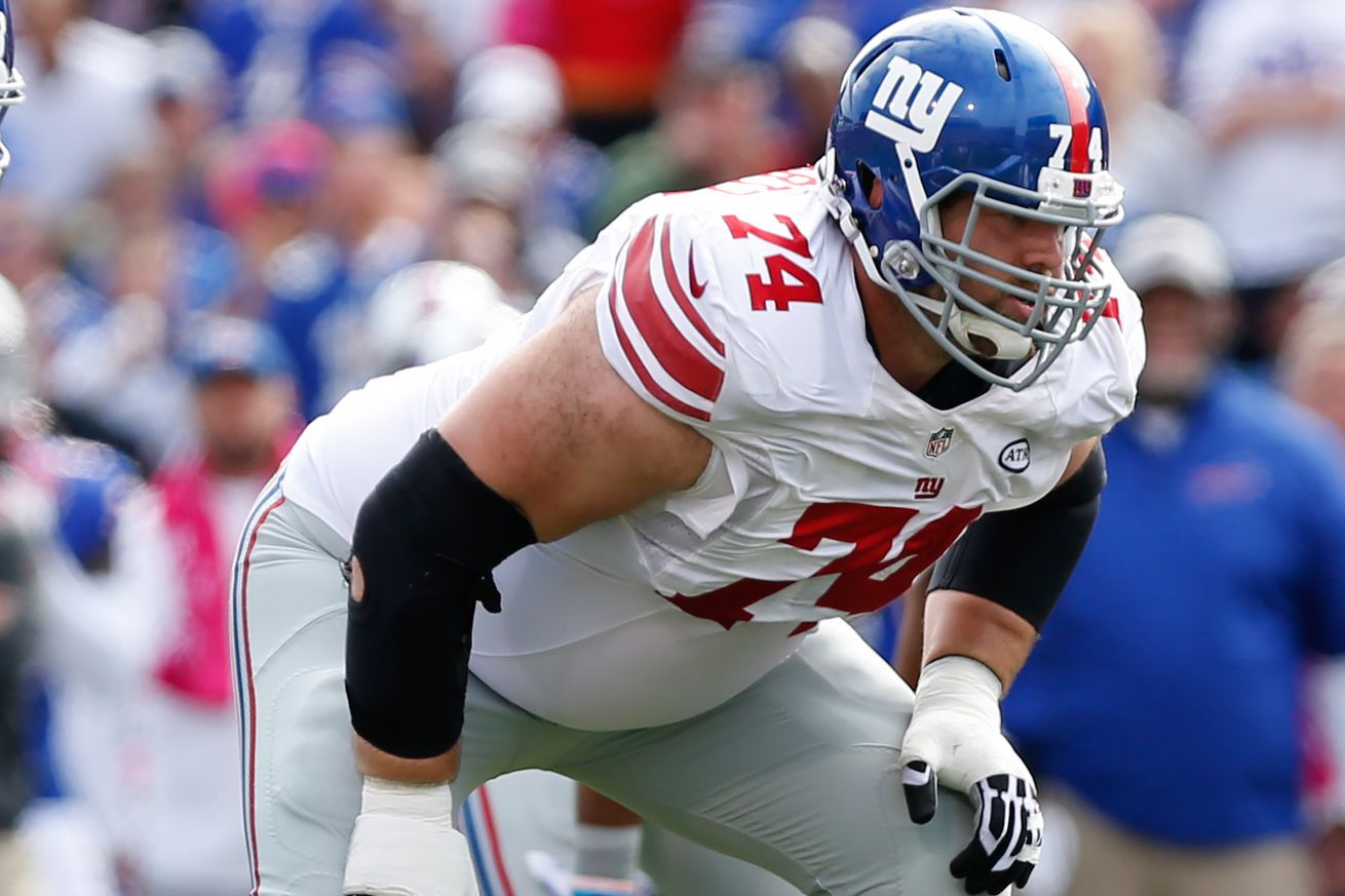 The Detroit Lions have signed guard Geoff Schwartz