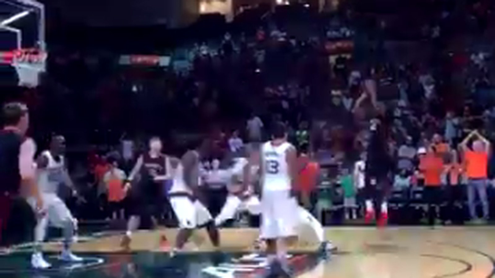 Northeastern shocks Miami on a buzzer-beater from Quincy ...