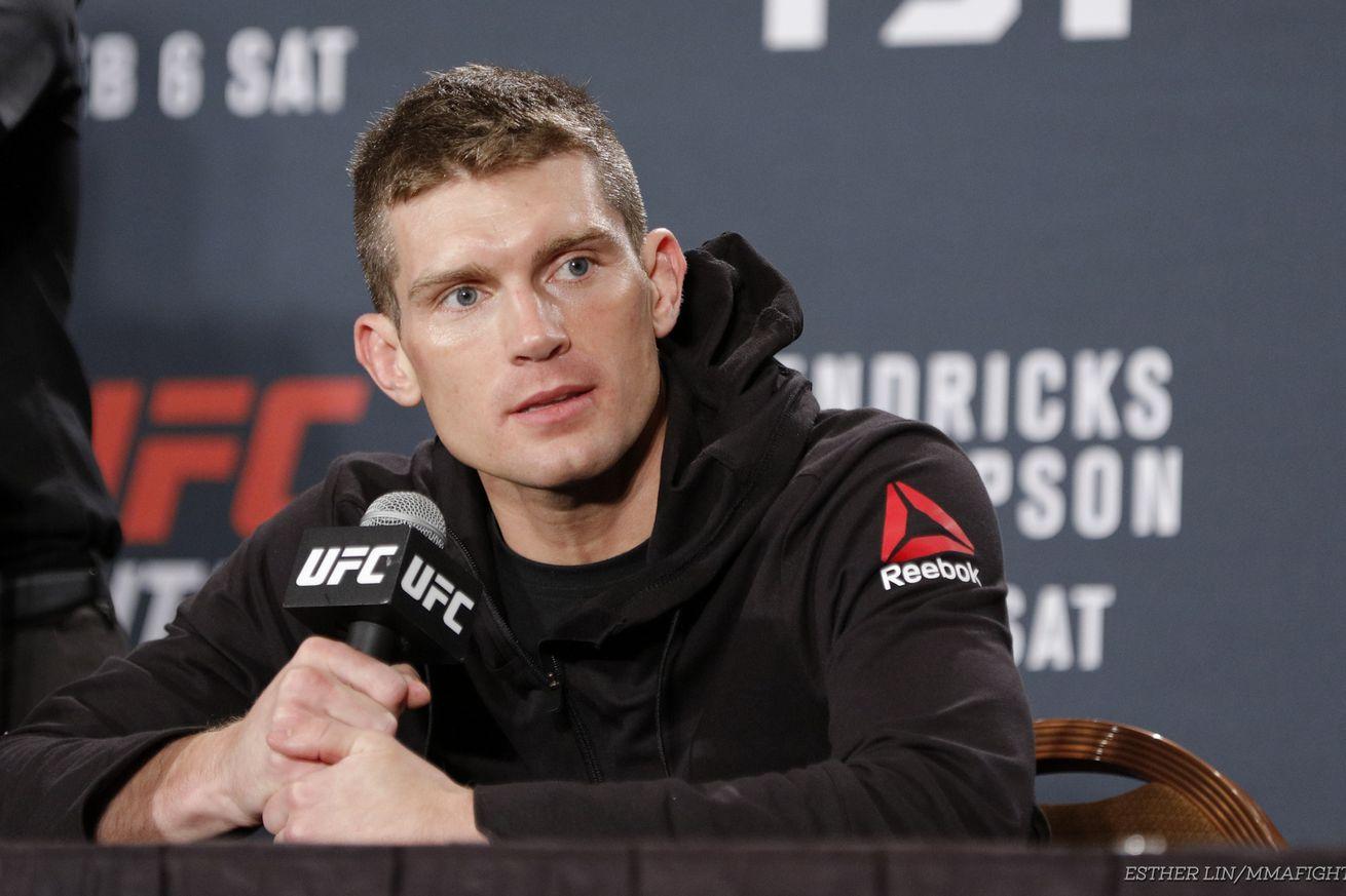 UFC Fight Night 82 results: Stephen Thompson def. Johny Hendricks via TKO
