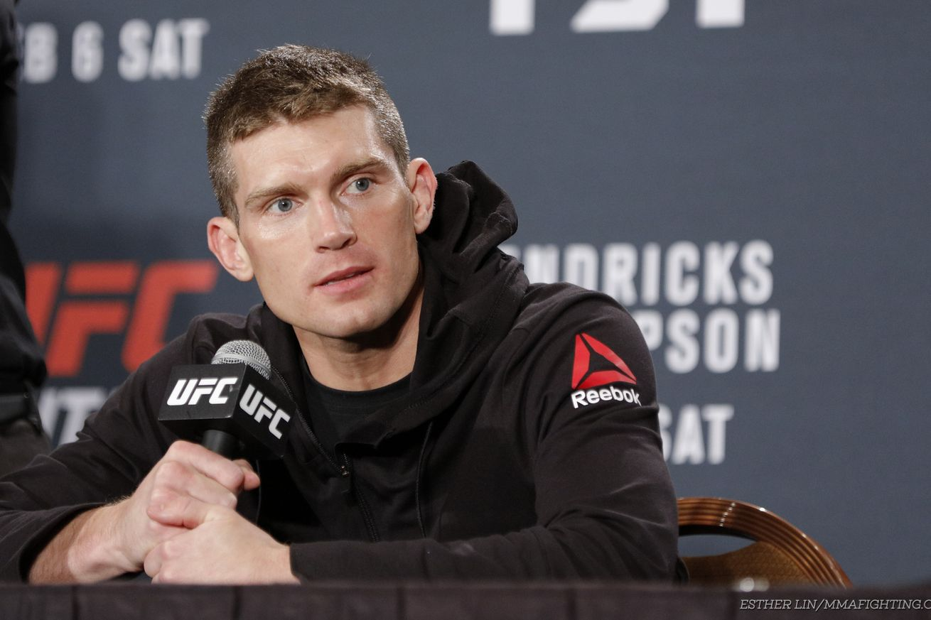 community news, Stephen Thompson: No matter what, I'm fighting Tyron Woodley for the title at UFC 205 in New York