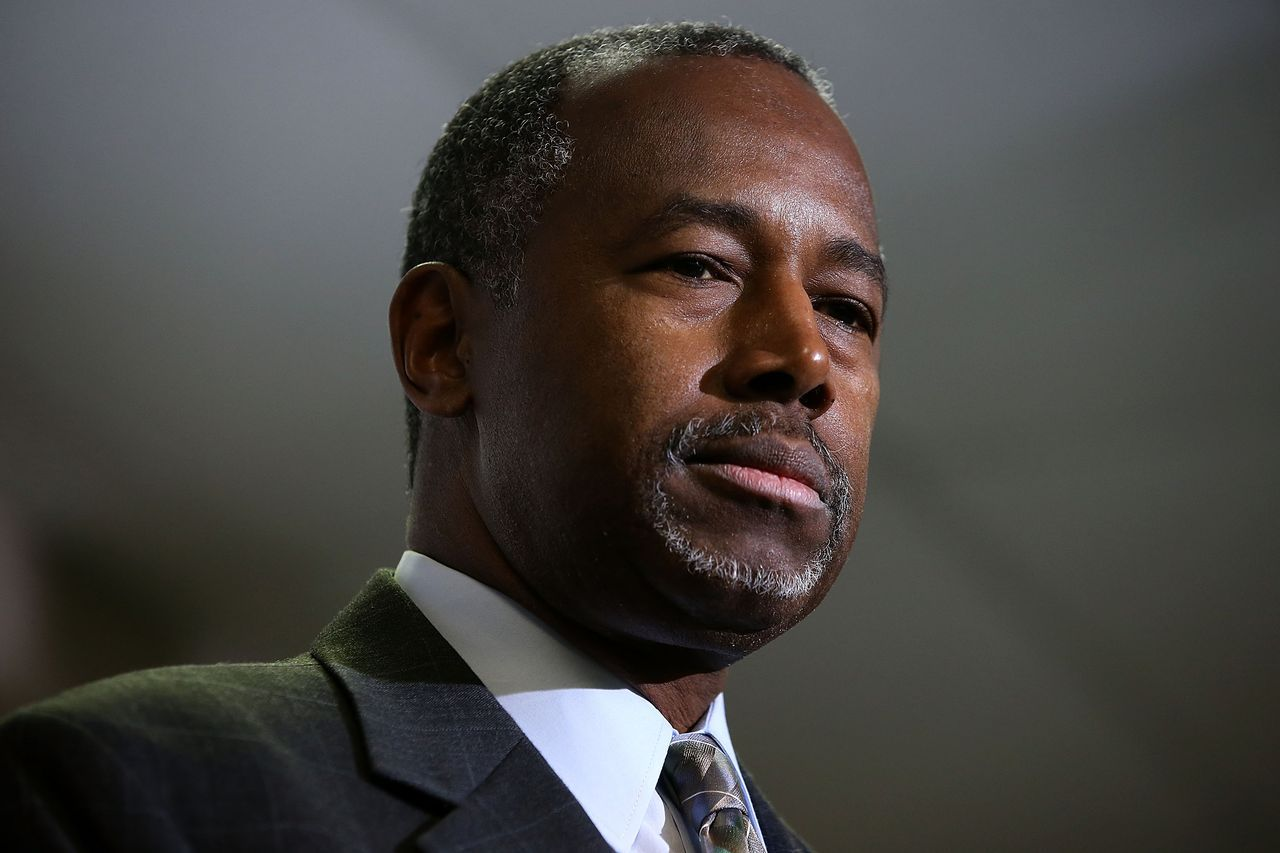 Ben Carson Says Obama Was Raised White