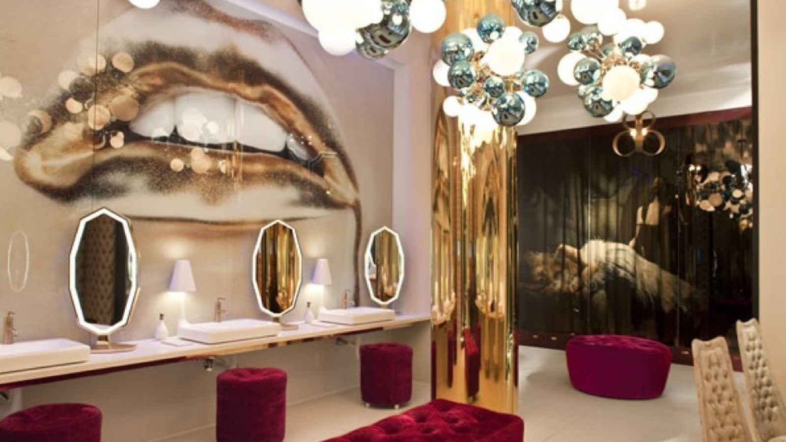 Could Vanity Have The Best Bathroom In America Eater Vegas