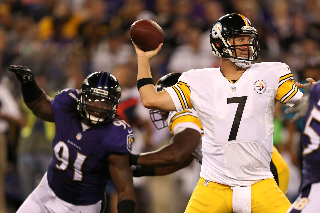 Jerseys NFL Online - Courtney Upshaw becoming a thorn in Steelers' side - Behind the ...