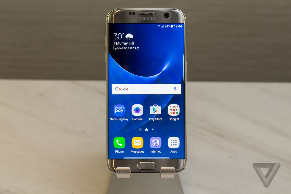 Samsung Galaxy S7 and S7 Edge pictures