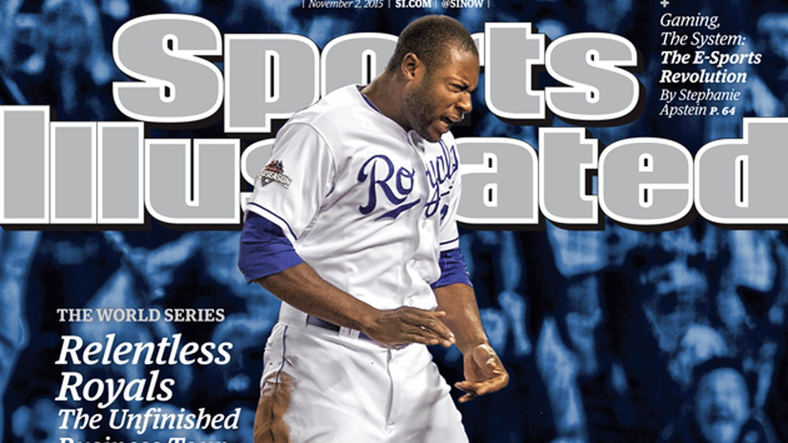 Lorenzo Cain on the regional cover of Sports Illustrated ...