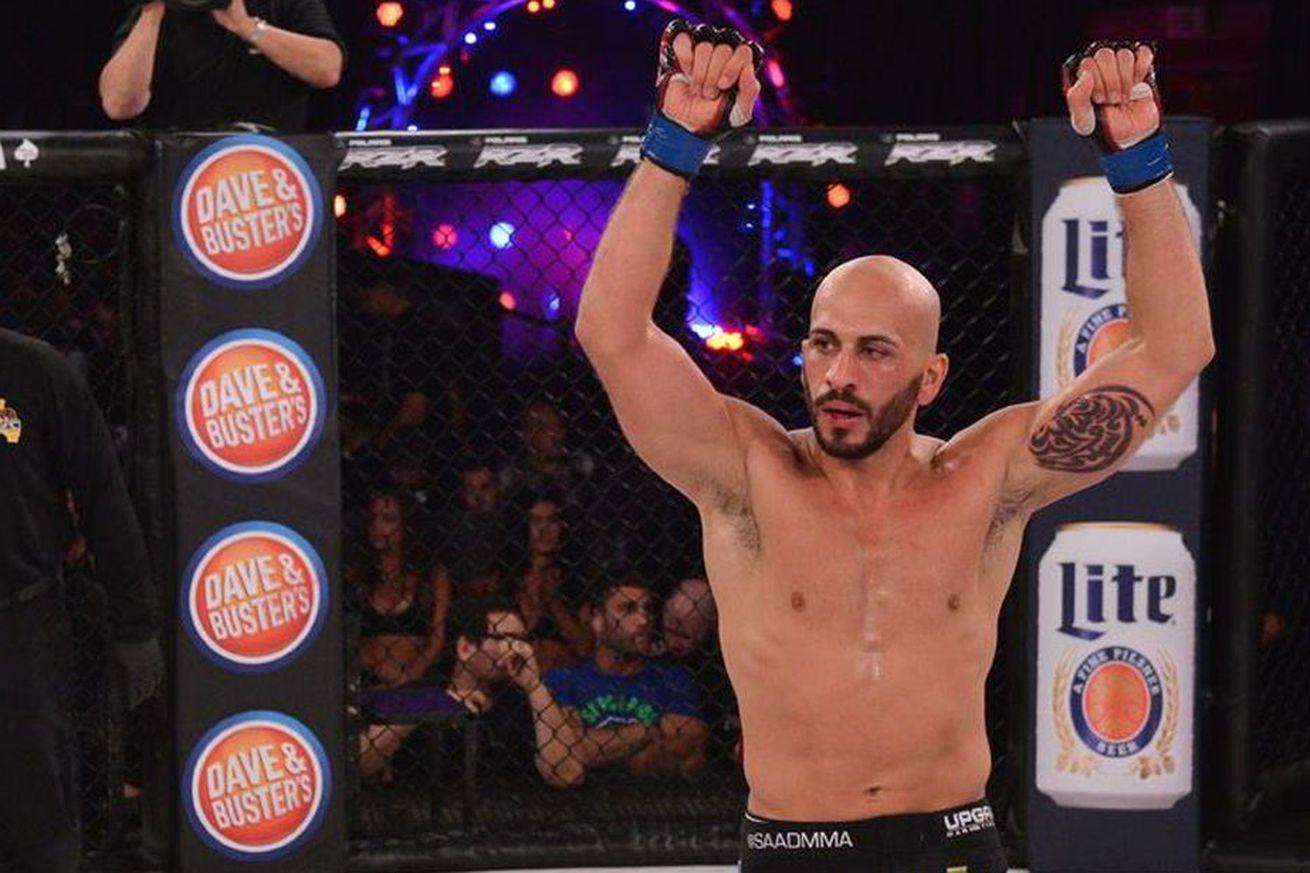 Bellator 154s Saad Awad wants a war with shrunk Cyborg Santos, eventually retire from MMA half way healthy