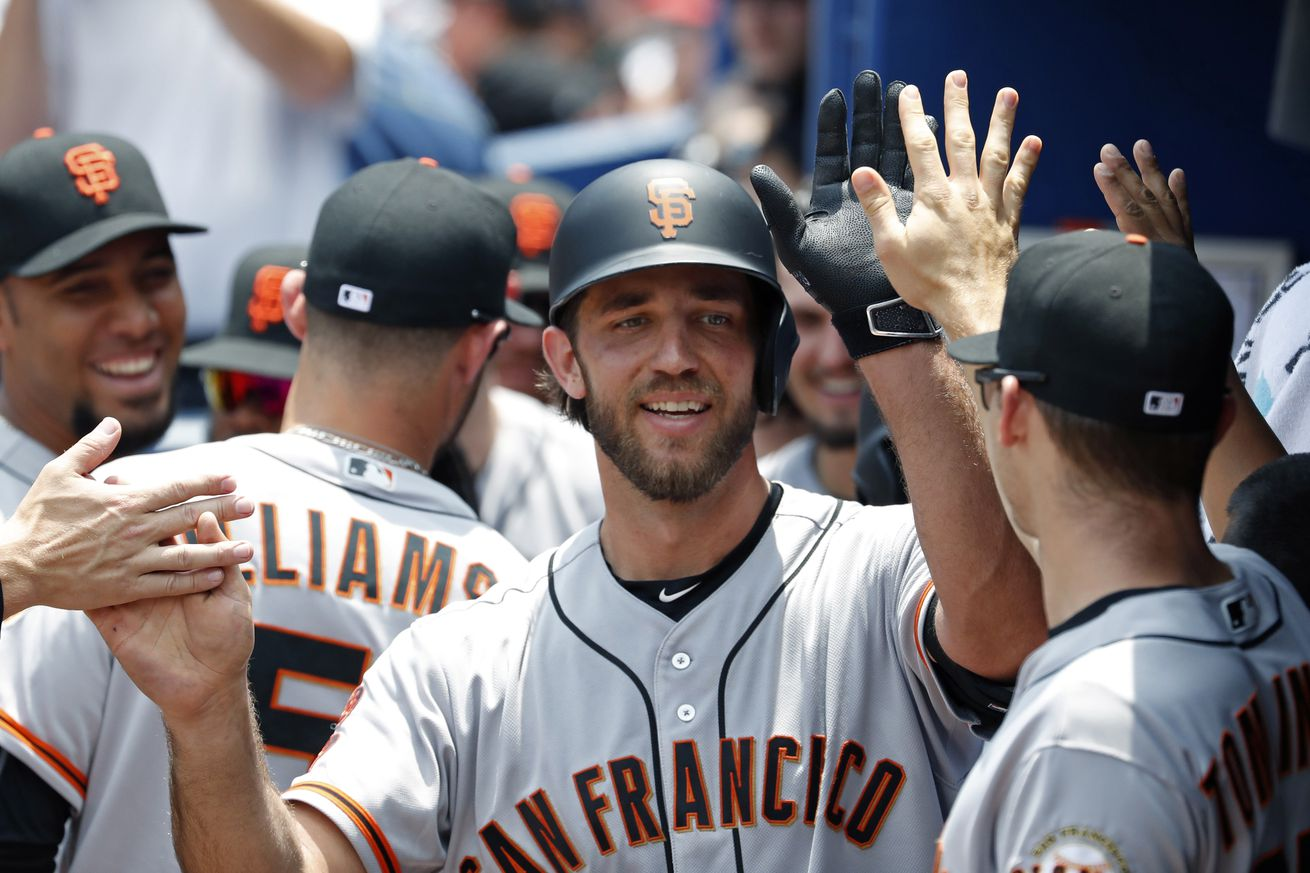Madison Bumgarner To Hit In American League Park As Giants Ditch DH